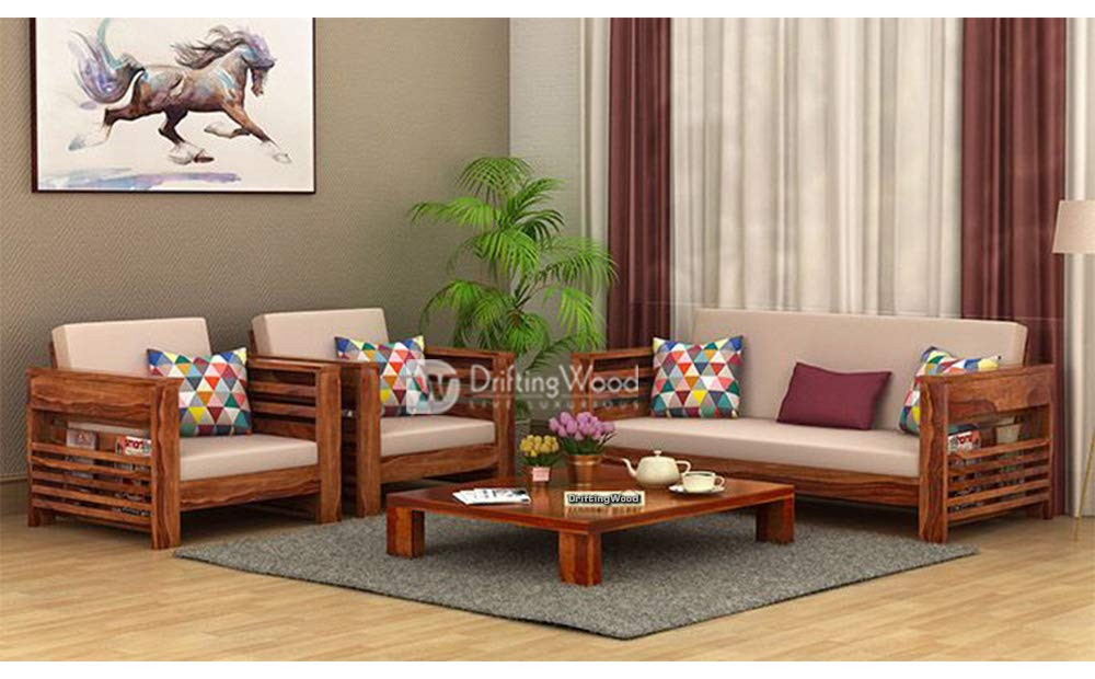 Top 5 Best 5 Seater Wooden Sofa Sets with Best Offers in India - grabitonce.in